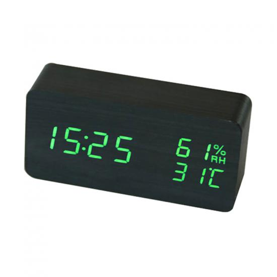desk Alarm clock with temperature and humidity