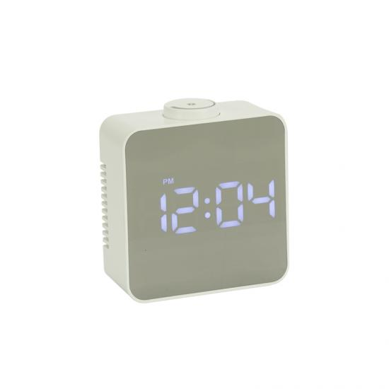 LED Mirror Alarm Clock