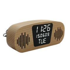 portable fm radio alarm clock
