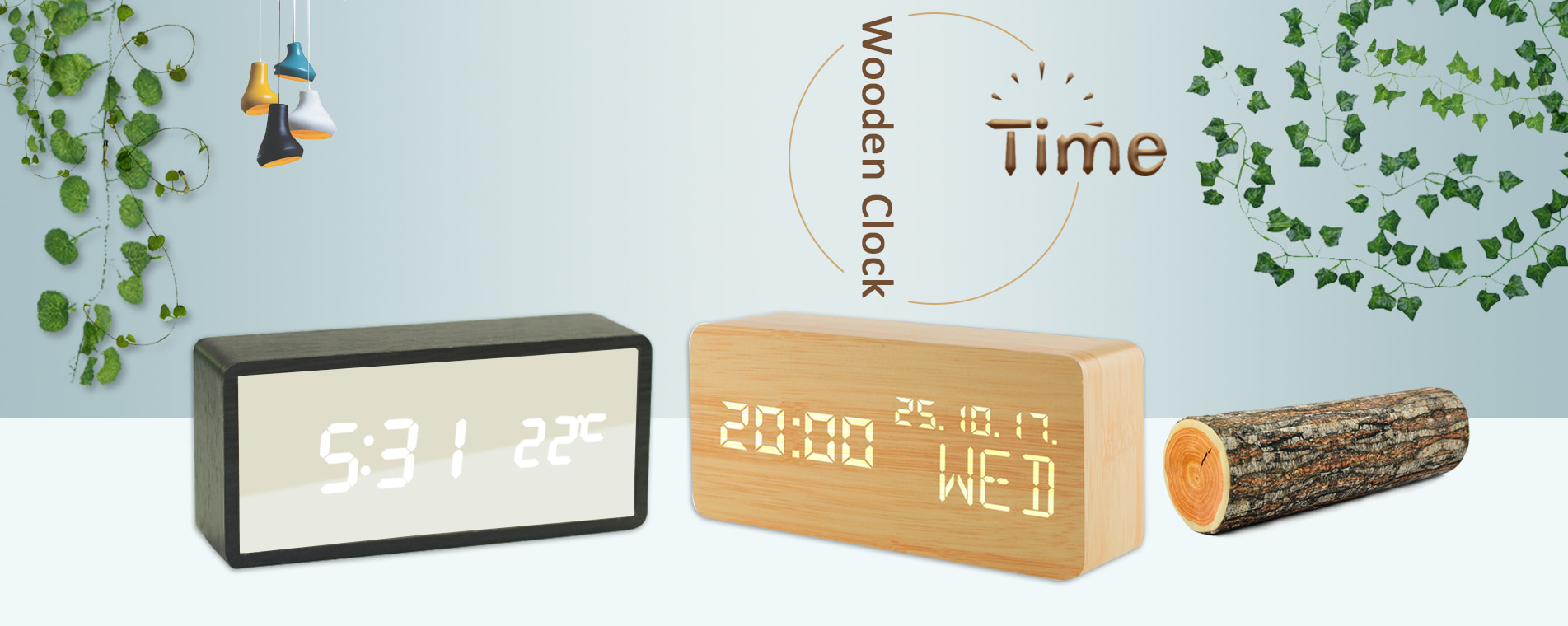 Wooden alarm clock manufacturer